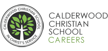 Calderwood Christian School Careers - Home