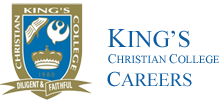 King's Christian College Careers - Home